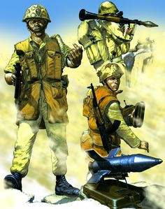Egyptian Assault Commando 1973