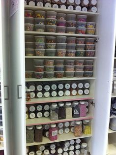 ...and here I thought I had a lot of sprinkles! There's another cupboard full just like this one too!