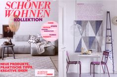 The new Schöner Wohnen collection is now available!  Our tip: fresh colour for the walls, new carpets, cushions & then as high point a design highlight by AmbienteDirect.com :)  What about the Luxembourg collection by Fermob, perfect for in- and outdoors?  Thanks for the mention!  http://www.ambientedirect.com/en/collections/luxembourg