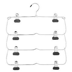 whitmor 4 tier folding skirt hanger with this whitmor 4 tier folding skirt hanger youu0027ll keep your favorite skirts neat and in order