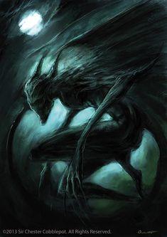 Why, hello.: The Nightgaunt Flies Again