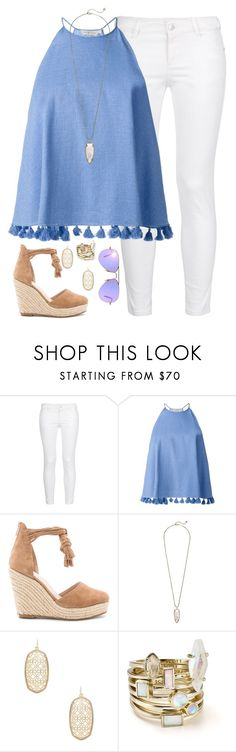 """""""it's not unusual"""" by kaley-ii ❤ liked on Polyvore featuring STELLA McCARTNEY, Tory Burch, Raye, Kendra Scott and Ray-Ban"""