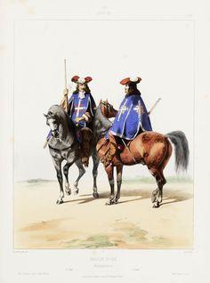 1663. Louis XIV.Maison du Roi: Mousquetaires. 1re Comp.ie 2e Comp.ie