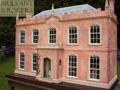 Dollhouse Miniatures : Mulvany & Rogers doll house  Share, Repin, Comment - Thanks!