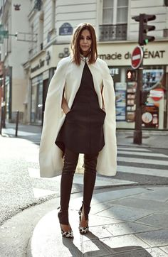 The cape is the new blazer.
