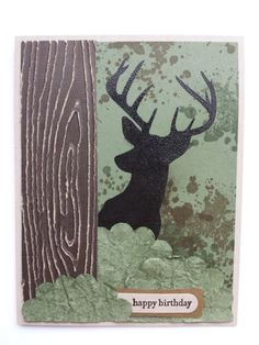 Masculine Birthday CArd by staceylisk - Cards and Paper Crafts at Splitcoaststampers