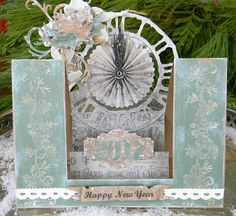 5 x 7 Step Ladder Card
