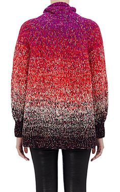 Spencer Vladimir Dégradé Oversized Turtleneck Sweater - Turtleneck - Barneys.com