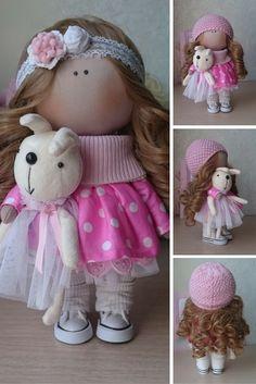 Tilda dolls handmade, Fabric colls, Textile dolls, Art dolls, Interior dolls, Decor Dolls