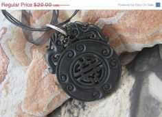 ON+SALE25+OFF+Chinese+Lucky+Jade+Pendant+by+soyon+on+Etsy,+$15.00