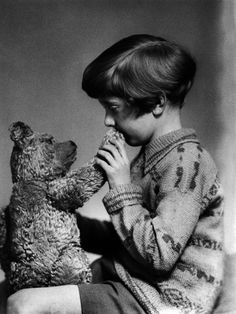 The real Winnie the Pooh and Christopher Robin 1927