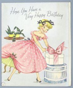 trendy ideas for vintage birthday cake illustration greeting card Happy Birthday Disney, 6th Birthday Girls, Happy Birthday Wishes Cake, Happy Birthday Woman, Bff Birthday Gift, Happy Birthday Beautiful, Birthday Cards For Boyfriend, Birthday Cards For Women, Birthday Gifts For Teens