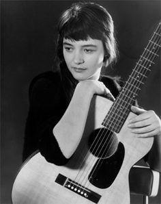 Folk Blues singer Karen Dalton