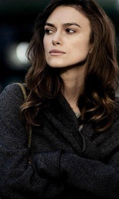 Keira Knightley ♥ Are you angry, or do you just normally frown?
