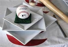 Baseball Table Settings!