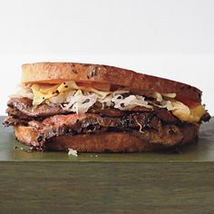 Find the recipe for Steak-and-Mushroom Reubens and other steak recipes at Epicurious.com