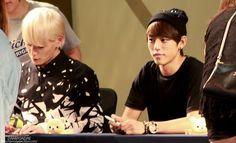 Himchan and Dae Hyun, B.A.P