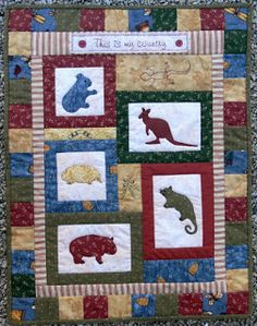 Val Laird: wall quilts and hangings