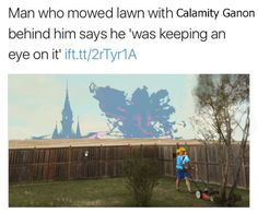 me playing breath of the wild