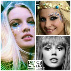 Make your face glisten with these Hippie Chic inspired face sequins. Upon…
