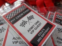 """Photo 4 of 21: Race Cars / Birthday """"Race Car party for 3 year old"""" 