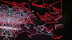 Space Frame II  Trade fair stand and monumental light installation  WHITEvoid was commissioned once again to design the trade fair stand for Vodafone. The distinguished…