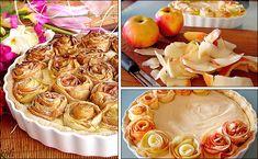 PANELATERAPIA - Blog de Culinária, Gastronomia e Receitas: Rosas de Maçã