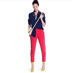 Spring style! Color blocking ❤️