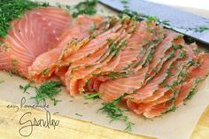 Easy Homemade Gravlax Mustard Salmon, Dill Weed, Seafood Appetizers, Fennel Seeds, Eating Raw, Fish And Seafood, Entrees, The Cure, Favorite Recipes