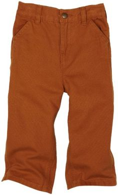 Carhartt Baby Boys' Washed Duck Dungaree, Carhartt Brown, 24 Months: Washed dungaree pant with triple stitched seams ruler pocket and double utility pockets Little Boy Outfits, Baby Boy Outfits, Kids Outfits, Toddler Pants, Toddler Boys, Baby Boys, Carhartt Pants, Kids Fashion Boy, Cute Baby Clothes