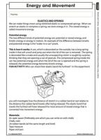Energy & Movement (Grade 5) | Energy and change | Pinterest ...