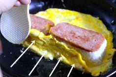 소풍 도시락 간단 한 끼 메뉴 계란말이 네모 김밥 만드는 방법 Korean Street Food, Korean Food, Rice Recipes, Asian Recipes, Easy Cooking, Cooking Recipes, Spam Musubi, Egg Wrap, Omelet