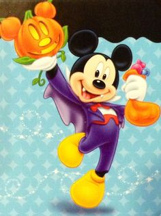 Mickey Mouse Halloween, Mickey Minnie Mouse, Disney Mickey, Disney Art, Walt Disney, Disney Stuff, Disneyland Halloween, Disney Movies, Happy Halloween