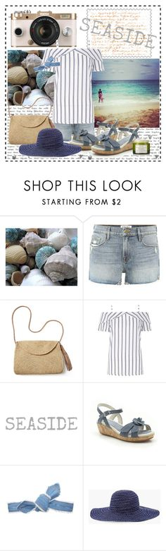 """Seaside"" by toribelle-x ❤ liked on Polyvore featuring Frame, Urban Outfitters, Mar y Sol, Dorothy Perkins, Colette Malouf, Chico's and Fresh"
