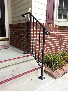 Best New Iron Railing Handrail Arch Rail Fits 3 Or 4 Step Wrought Iron Railing Exterior Wrought 400 x 300