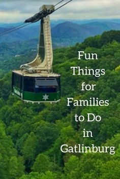 Fun Things for Families to Do in Gatlinburg Learn more about activities and adventures that are family friendly during a visit to Gatlinburg, Tennessee. #Gatlinburg #Tennessee #SmokyMountains