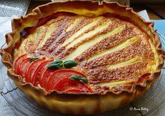 Tarte aux asperges au gorgonzola