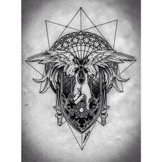 #Broslavskiy #tattoo #geometry #gothic #art #lineart #engraving