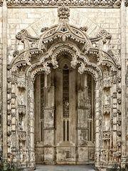 Portal to unfinished Chapels Batalha by Daniel Schwabe