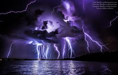 Lightning Display Over Central Florida - EPOD Submission July 2, 2015