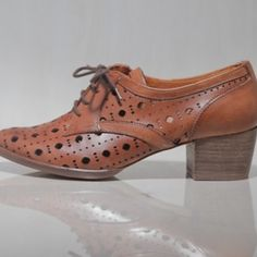 i love that these oxfords have a bit of a heel