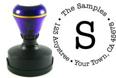 Self Inking Custom Return Address Stamp $12.90 - Great gift idea for someone who bought a new house!