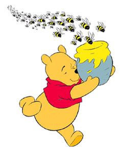 Image result for winnie the pooh bees