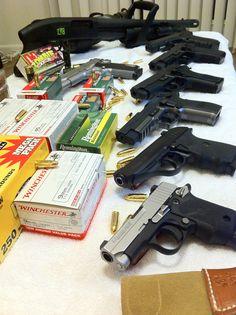 Guns and Ammo.