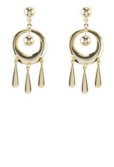 Circle Tears Earring from 1901 Jewelry in gold_1