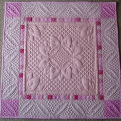 """Mini quilt, 20"""" square, made for the Ozark Piecemakers Quilt Show auction in 2010. Made by foreverquilting"""