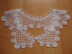 Hey, I found this really awesome Etsy listing at https://www.etsy.com/listing/199753279/white-crochet-collar-necklace-handmade