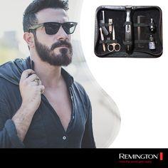 Mantén un look perfecto en donde sea que estés con el kit de viaje que Remington tiene para ti. #man #tools #mancare #Kit #travel #swag #style