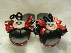 cute flip flops  | Cute flip flops found on etsy @ CountryBumpkinBottle's shoppe