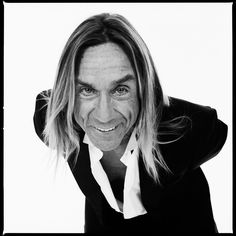 Iggy Pop (1947) - American singer-songwriter, musician and actor. Photo © Xavier Martin